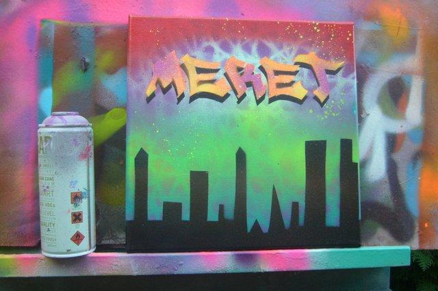 Graffiti und Streetart