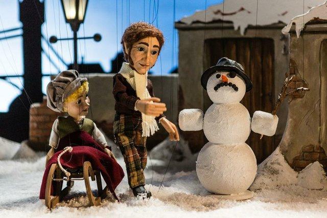 Geister der Weihnacht Augsburger Puppenkiste