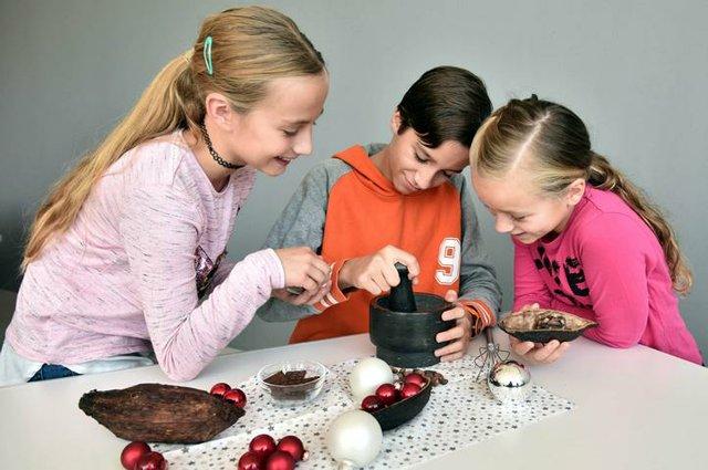 Weihnachtliche Schokoladenwerkstatt