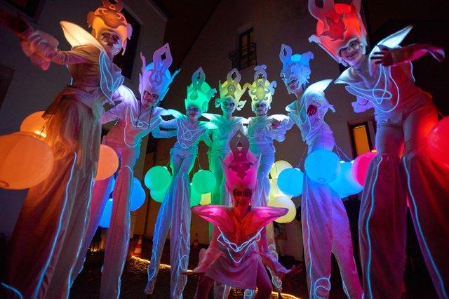 Lichtertreiben Sambakarneval