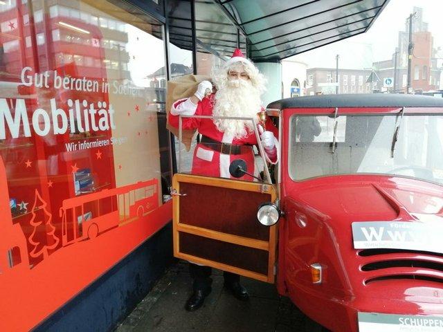 Weihnachtsmann auf Bestellung