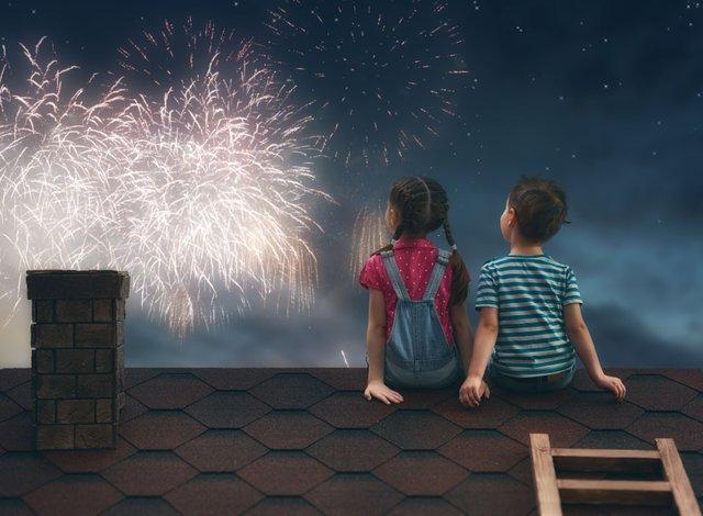 Silvester Jahreswechsel mit Kindern