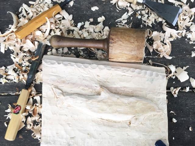 Ein Bild aus Holz, KUBO
