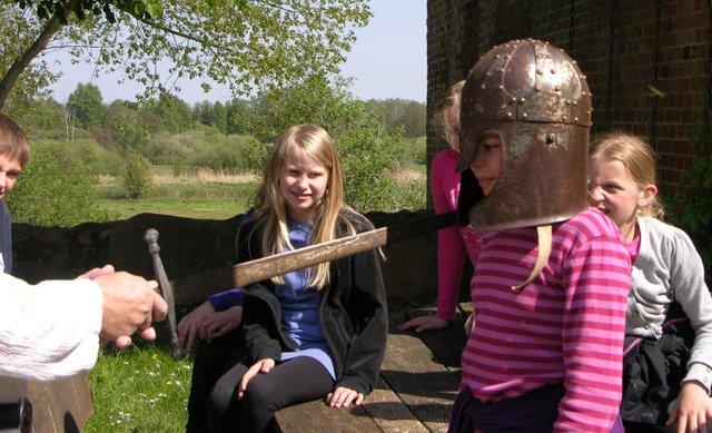 Ritterlicher Kindergeburtstag, Robin Hood für Jedermann, Burg Bodenteich