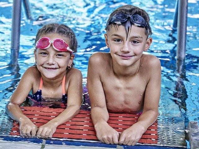 Schwimmunterricht bei den Bremer Bädern