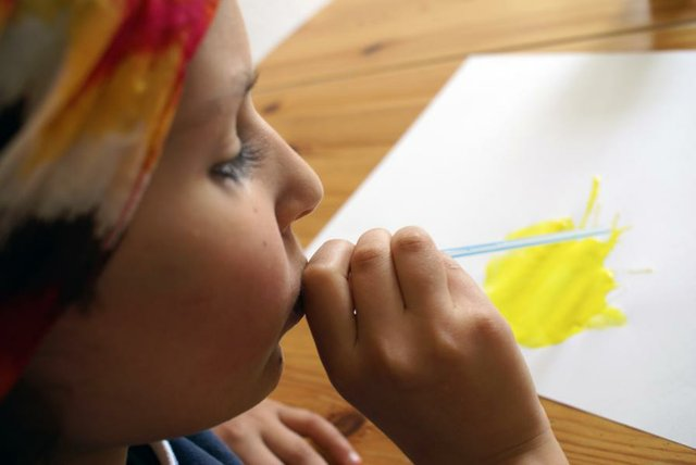 Kinder machen Kunst, Exprimendi