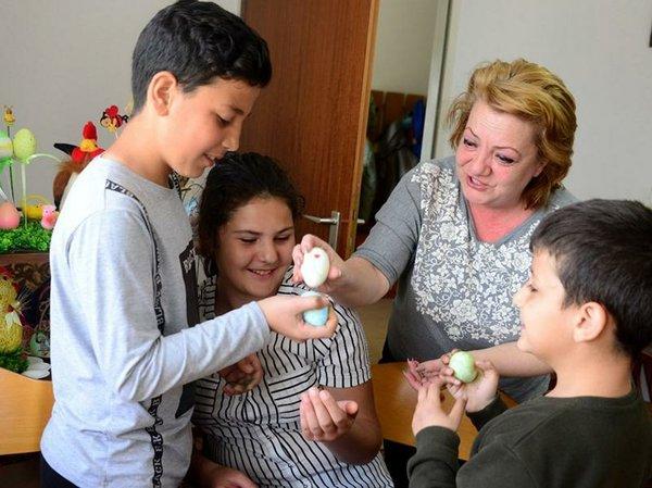 Arsine, Armenien, SOS Kinder