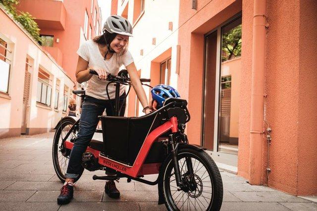 Fahrräder, Lastenräder