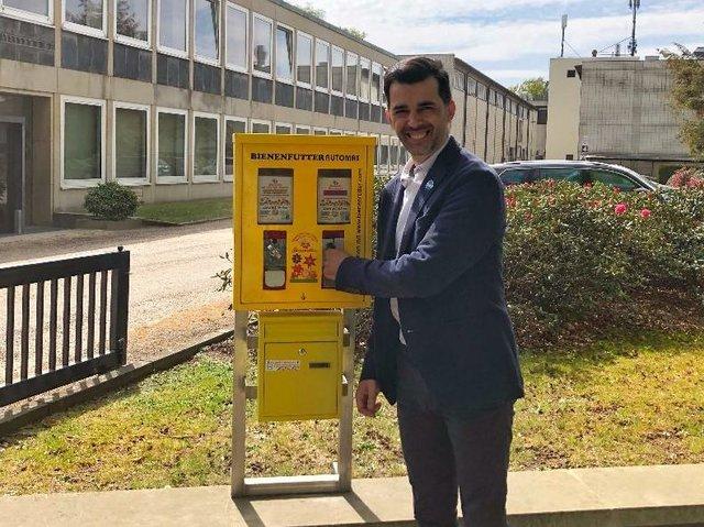 Saatgutautomat für Bienen