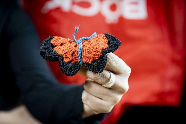 DIY: Schmetterlinge häkeln, BUND Aktion zum Tag der Artenvielfalt