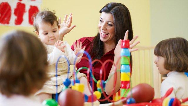 Kita und Kindergarten