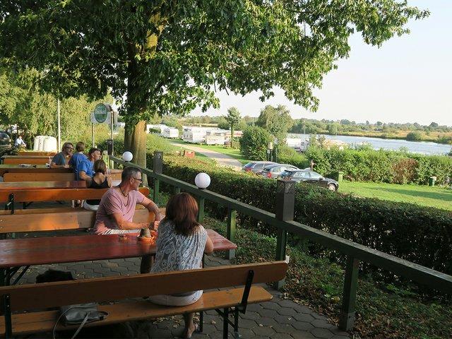 Ausblick Restaurant Deichkind