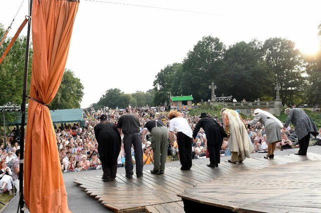 Sommer Summarum Open air, Shakespeare im Park