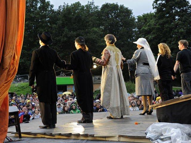 Sommernacht im Park - bremer shakespeare company