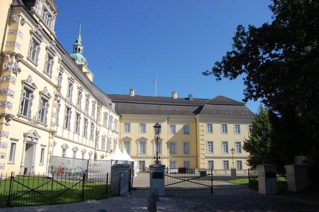 Oldenburger Schloss Innenhof