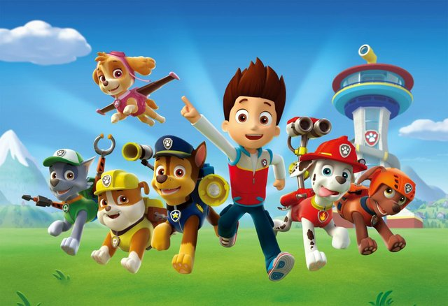 Paw Patrol - Mighty Pups