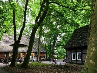 Außenansicht Cafè Knopps Park
