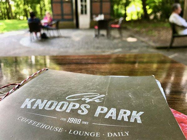 Café Knoops Park - Speisekarte