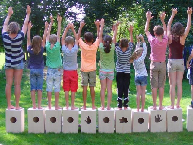 Cajon-Workshop auf der Kinder- und Jugendfarm Borgfeld