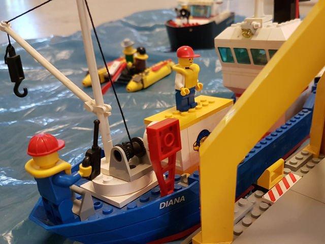 Hafen Sonderausstellung LEGO Architektur