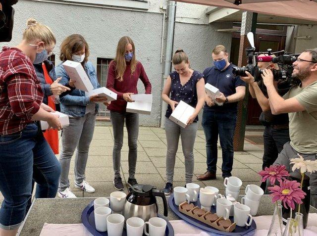 iPad-Verteilung an Bremer Lehrkräfte, Grundschule an der Oderstraße