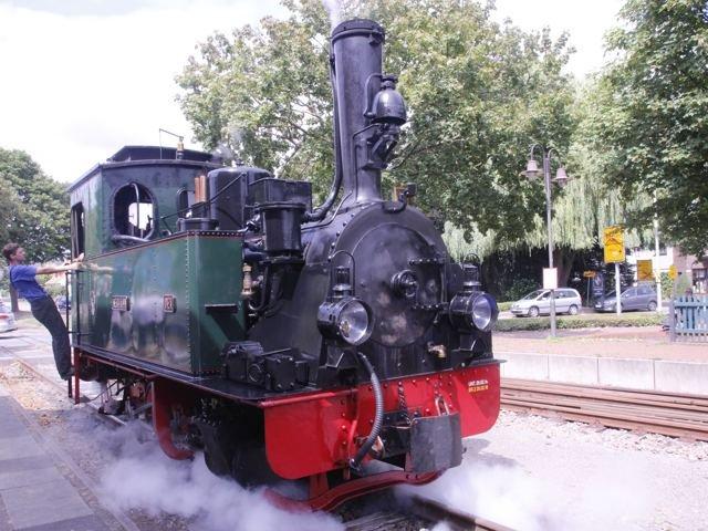 Dampflokomotive Hermann