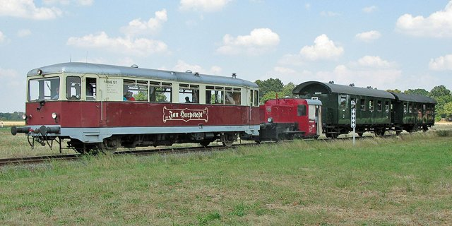 Historische Kleinbahn Jan Harpstedt - Dieseldoppel