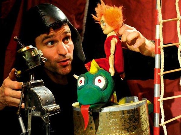 Ritter Rost und das mutige Burgfräulein Bö, Mensch Puppe