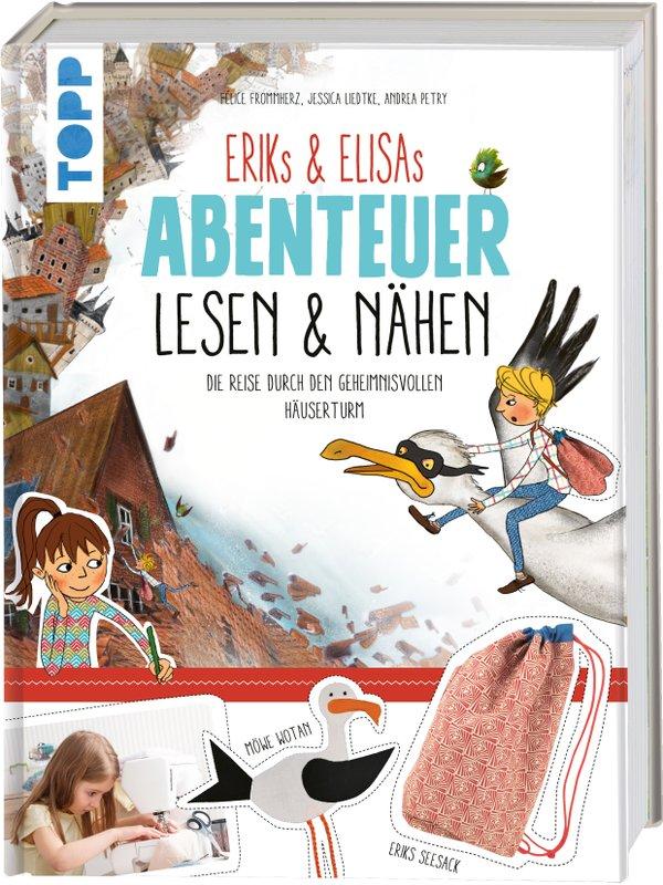 Erik & Elisa Abenteuer Lesen & Nähen