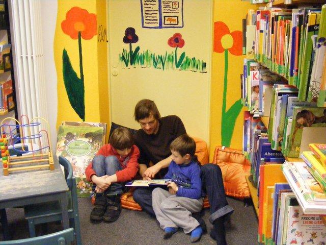 Lange Kinder-Lesenacht, Bibliothek Walle