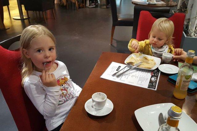 Mit Kindern im: Café da Rocco