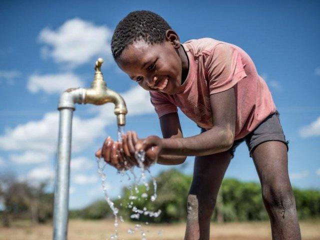 Trinkwasser schenken mit Oxfam