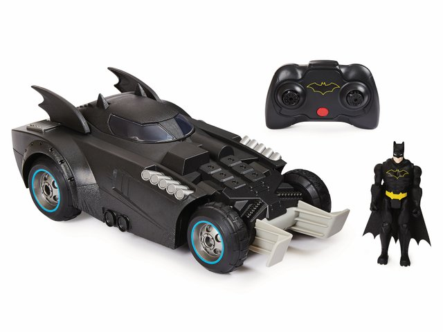 Launch and Defend Batmobile