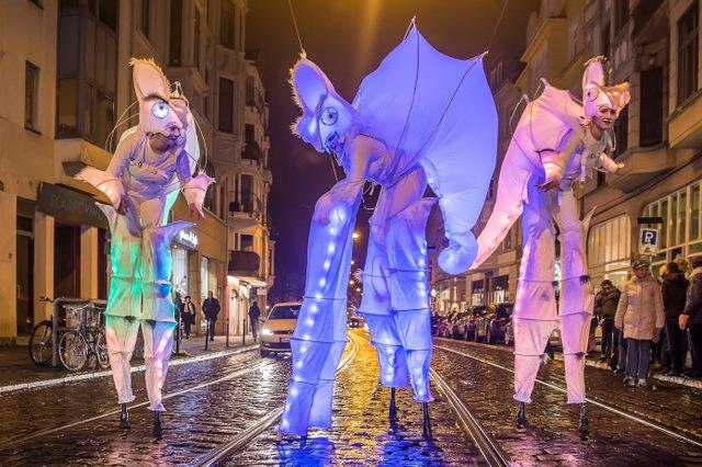 Lichtertreiben, Sambakarneval
