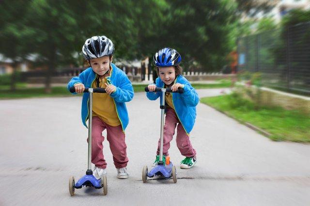 Kinder, City-Roller, Mobilität