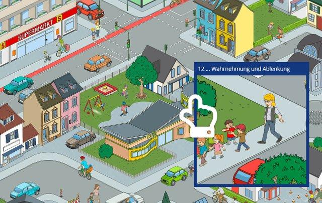 Kind und Verkehr Infobild