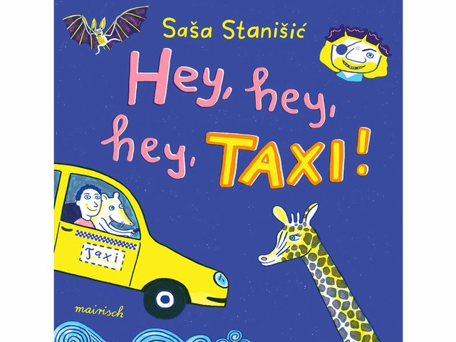 Buchtipp: Hey, hey, hey, Taxi