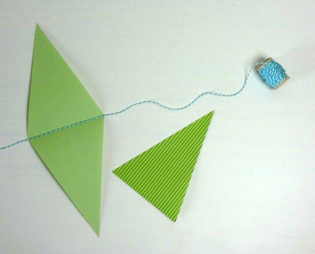 DIY: Wimpelkette für die Gartenparty