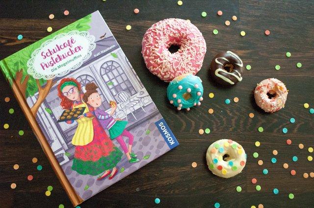 Rezept: Mini-Donuts aus dem Ofen