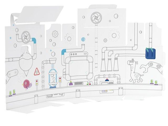 Pelikan Kreativfabrik Supertower, Innendruck-Kreativsystem_Turm_Geschenkbox_Innendruck