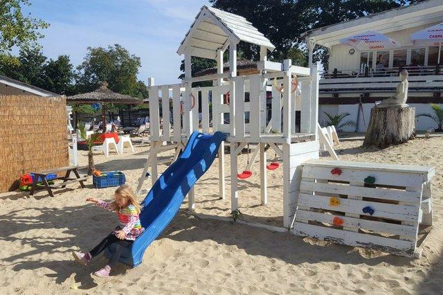Gastrotest: White Pearl Beach Club Spielplatz