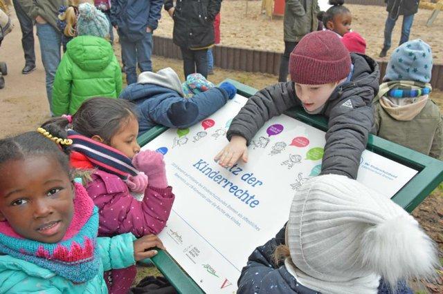 Platz der Kinderrechte im Bürgerpark