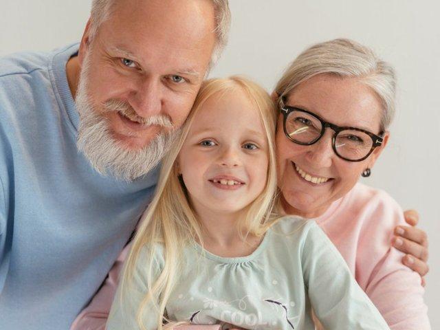 Oma, Opa, Enkelkind