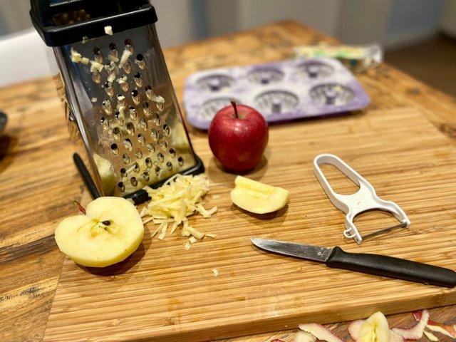Rezept: Gugelhupfe mit Äpfeln
