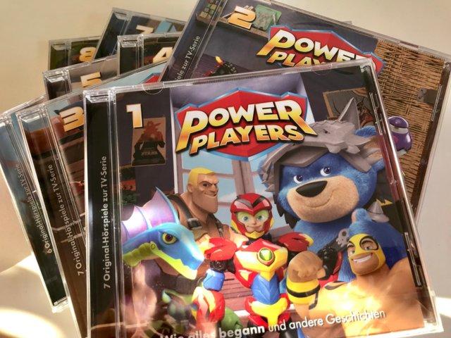 Gewinnspiel: Power Players zum Hören
