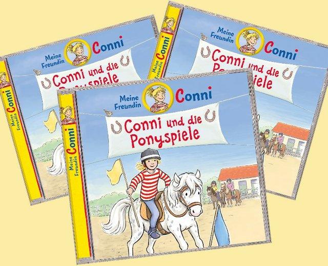 Gewinnspiel: Conni und die Ponyspiele