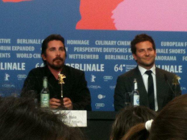 Christian Bale und Bradley Cooper