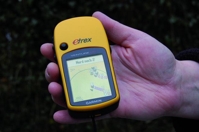 GPS-Schnuppertour , Wildpark Schwarze Berge