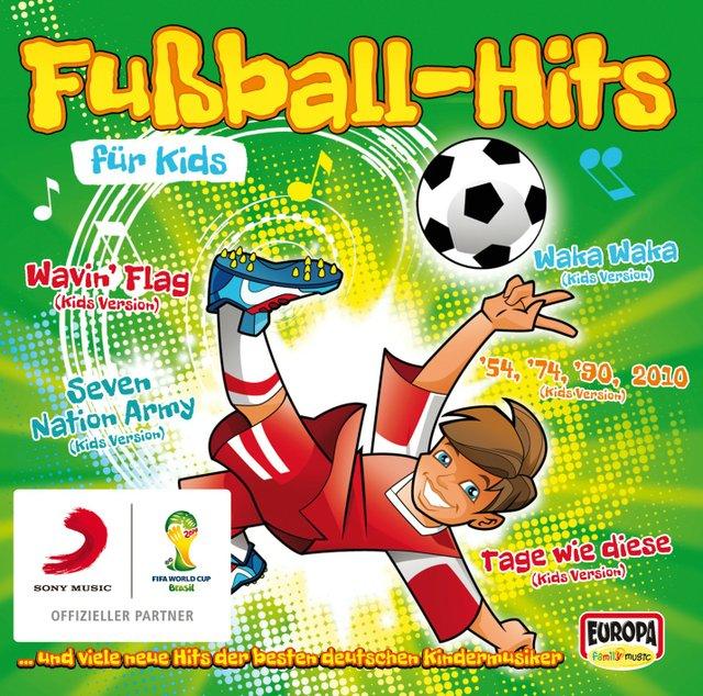 Cover Fußball-Hits für Kids