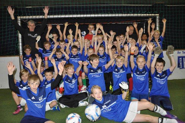 Fußballcamp Intoor